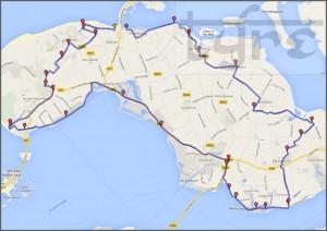 Strijd tegen water route